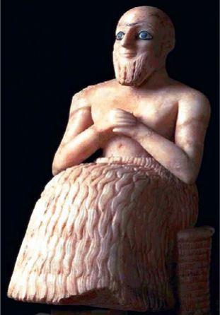 Эбих-иль, сановник из Мари. 2500 г. до н.э.Искусство Древней Месопотамии