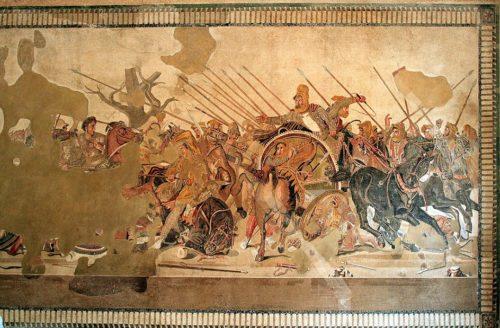 Искусство 48 (1.1) Искусство Древнего Рима. Александрова мозаика, I век до н. э.