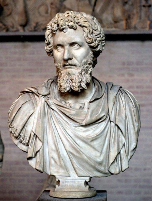 Искусство 48 (2) Искусство Древнего Рима. Бюст императора Септимия Севера, начало III века