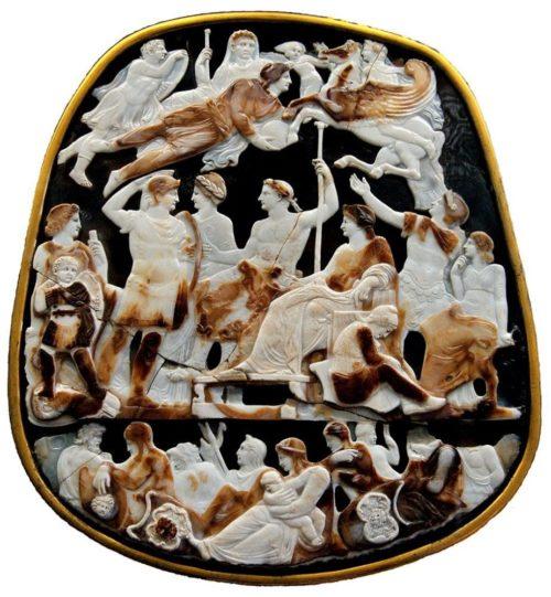 Искусство 48 (2.1) Искусство Древнего Рима. Камея Великая камея Франции, I век