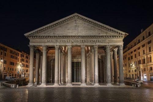 Пантеон - Храм всех богов, начало II века