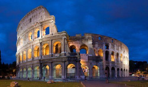 Колизей, конец I века нашей эры.