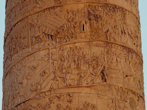 Часть Колонны Траяна, начало II века