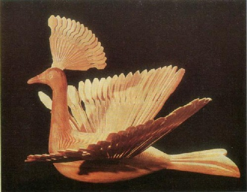 А. И. Петухов.Птица «Добрая». 1972