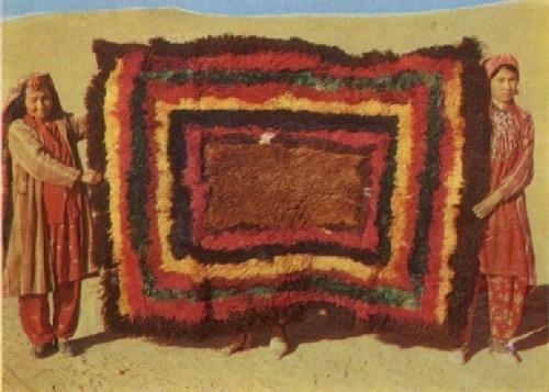 Высоковорсовый ковер джульхирс