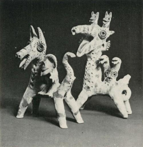 Г. Халилов. Драконы. Игрушки. 1970-е гг.