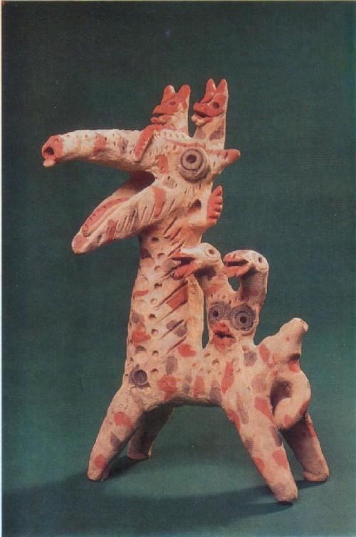 Г. Халилов. Дракон со змеями. 1976 Игрушка.