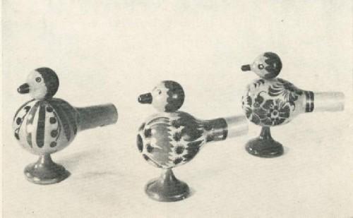 Л. Д. Пахупова, А. И. Ермакова, П. С. Волкова. Птички-свистульки. 1970