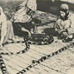 Узорные войлоки туркменских мастериц