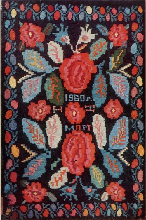 Н. М. Андреева. Ковер. 1960