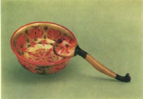 С. П. Веселов. Чаша с ложкой. 1980