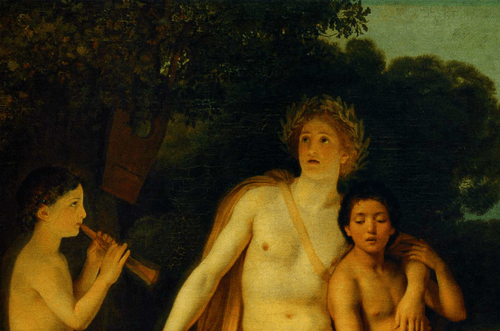 Аполлон, Гиацинт и Кипарис