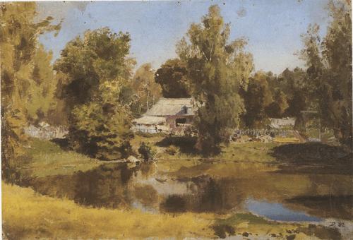 Верхний пруд в Абрамцеве. 1882