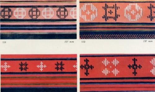 Вышивка каймы мухинской юбки