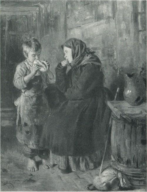 В.Е. Маковский. Свидание 1883