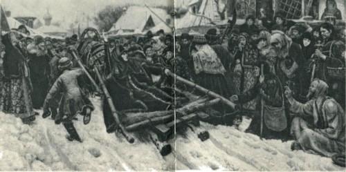В.И. Суриков Барыня Морозова 1887