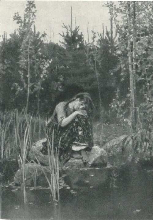В.М. Васнецов. Аленушка 1881
