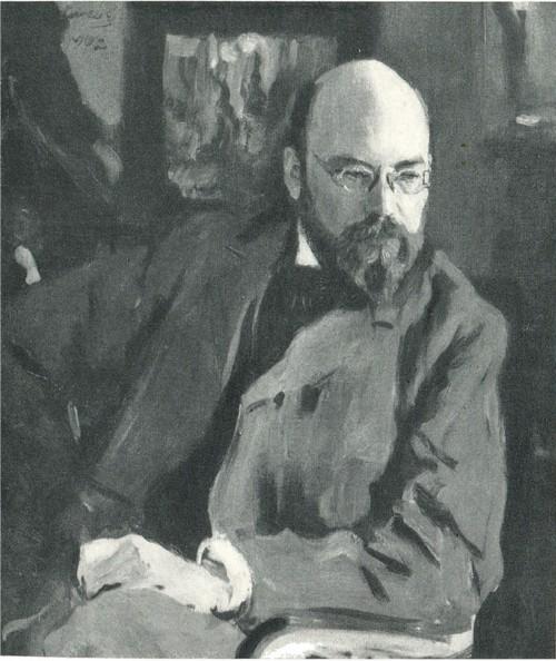 В. А. Серов. Портрет И. С. Остроухова. 1902