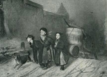 В. Г Перов. Тройка. 1866