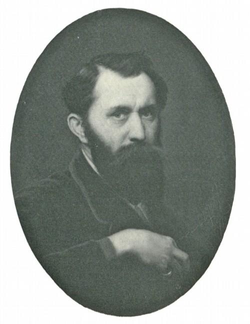 В. Г. Перов. Автопортрет. 1870