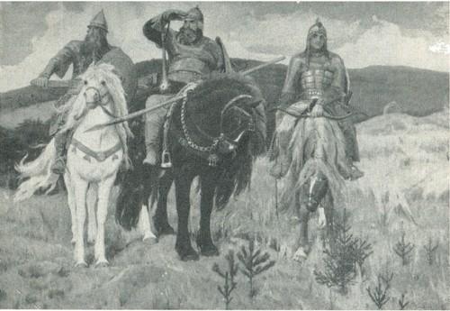 В. М. Васнецов. Богатыри. 1881-1898