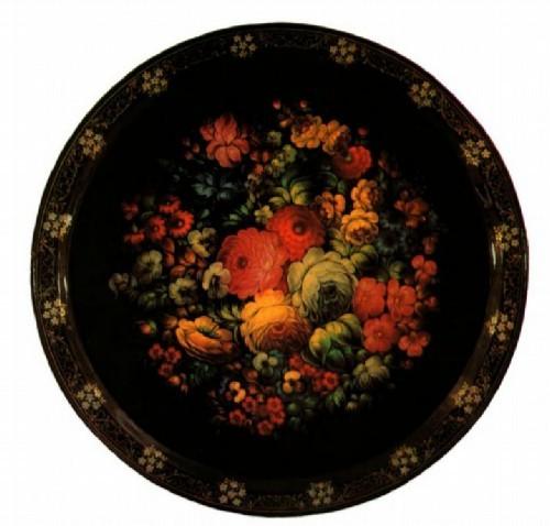 Гогин И.С. панно Букет цветов 1981