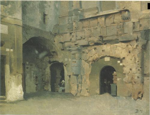 Городской пейзаж. 1875