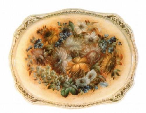 Графов Панно Букет цветов 1985