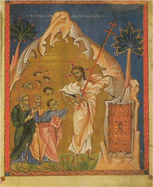 Живопись Армении в средние века