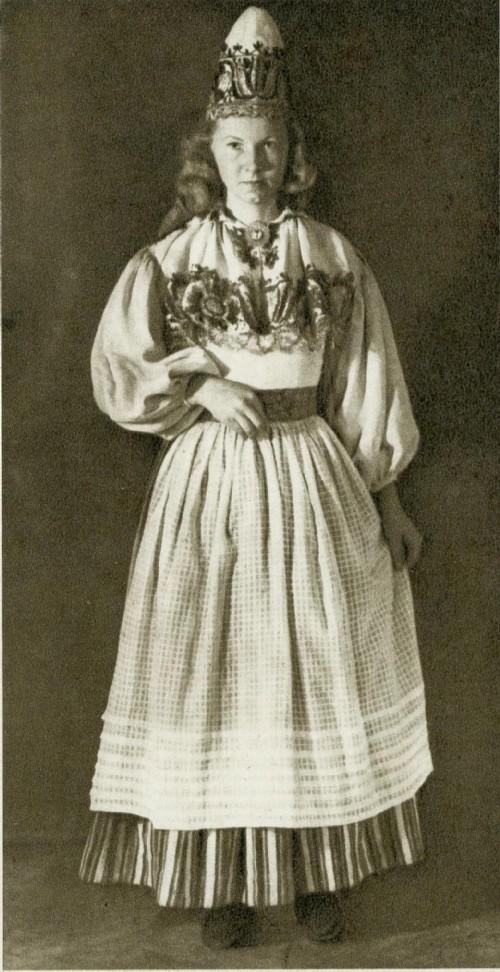 Женский костюм из Вяйке-Маарья Северная Эстония