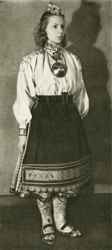 Женский костюм с о. Муху более поздний