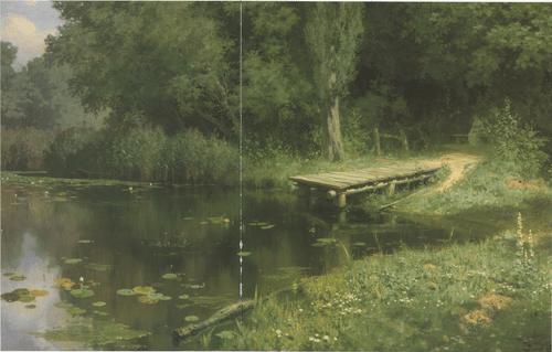 Заросший пруд 1879
