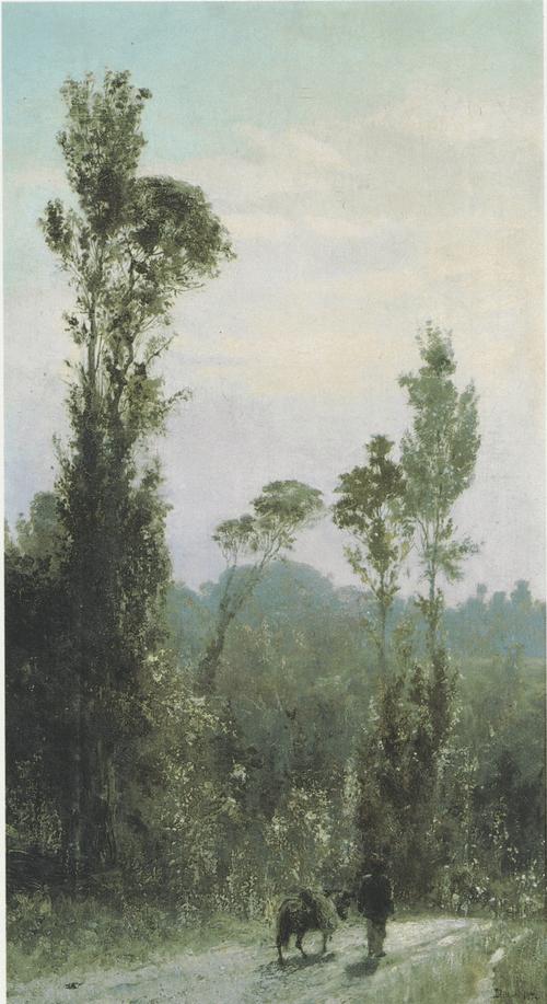 Итальянский пейзаж. 1874
