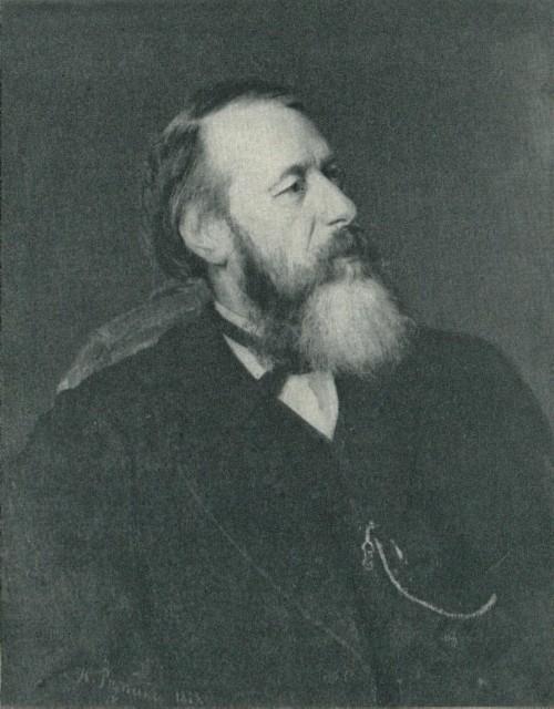 И. Е. Репин портрет В. В. Стасова 1873 г