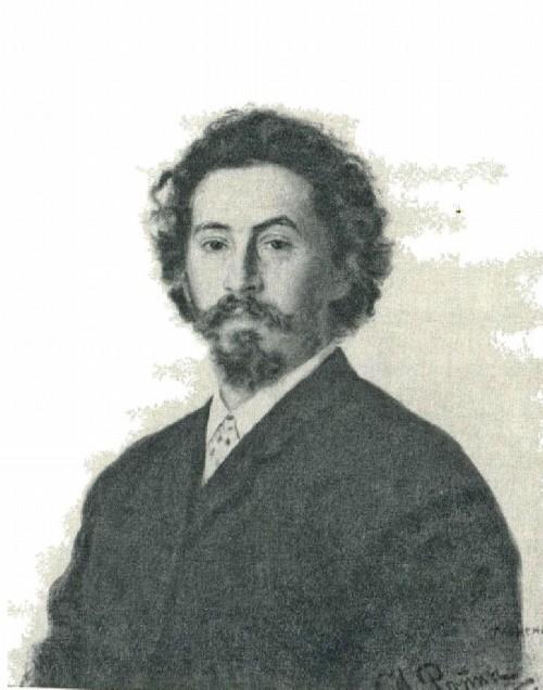 И. Е. Репин. Автопортрет. 1887