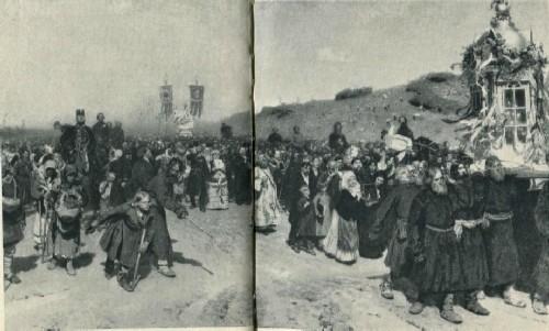 И. Е. Репин. Крестный ход в Курской губернии. 1880-1883