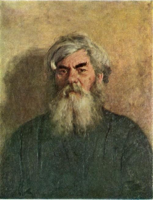 И. Е. Репин. Мужик с дурным глазом. 1877