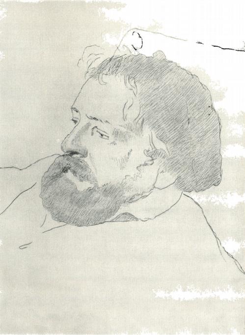 И. Н. Крамской. Портрет А. А. Иванова. Гравюра. 1879