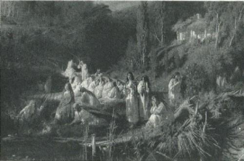И. Н. Крамской. Русалки. 1871