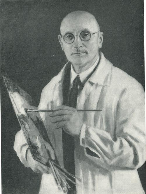 И. Э. Грабарь. Автопортрет. 1934
