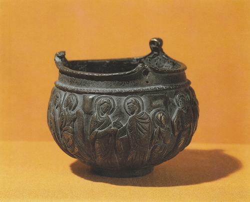 Кадильница из храма св. Григория в Ани. XII – XIII вв. Бронза