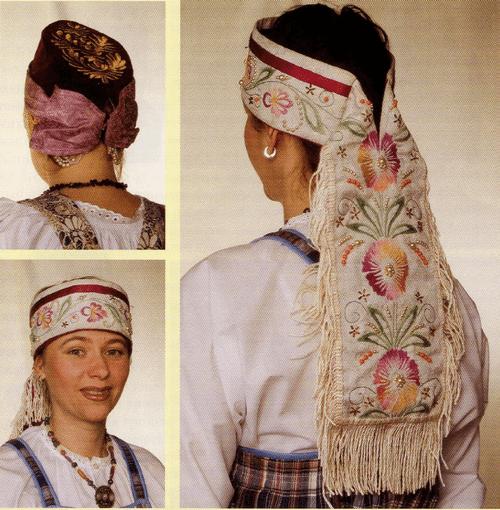 Карелии головной убор