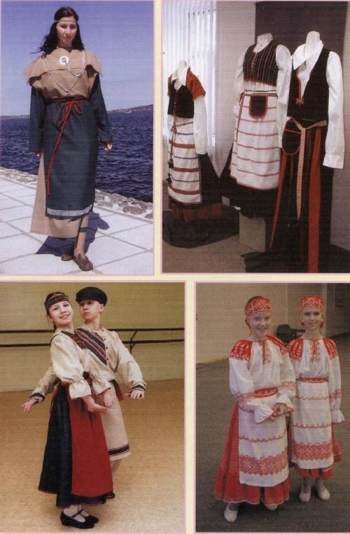 Карельский сценический костюм