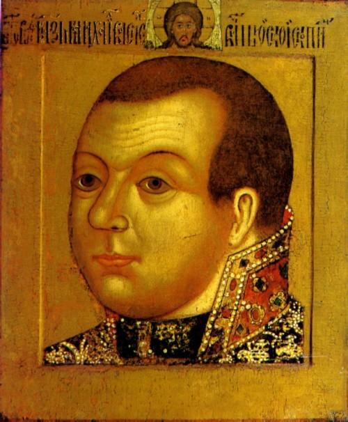 Князь Михаил Васильевич Сконин-Шуйский. Парсуна. 1630—1640-е годы Москва. Оружейная палата