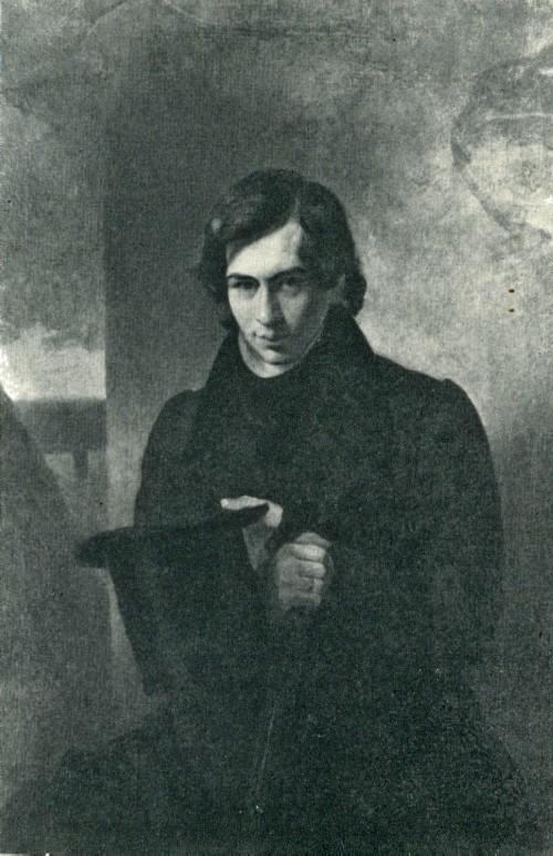 К. П. Брюллов. Портрет Н. В. Кукольника. 1836