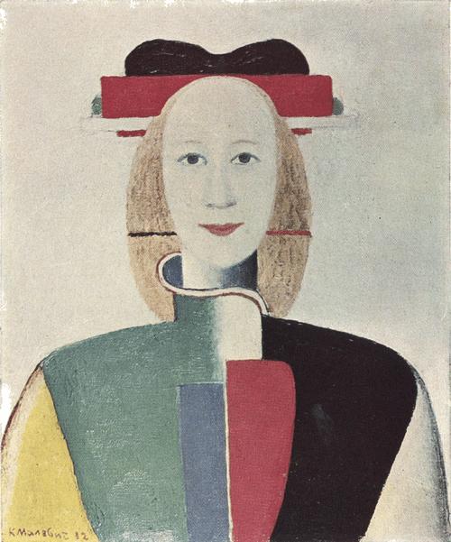 К. С. Малевич. Девушка с гребенкой. 1932