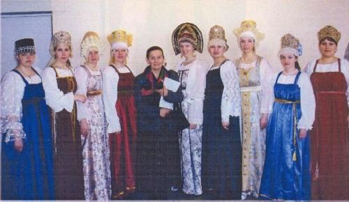 Народный костюм карел