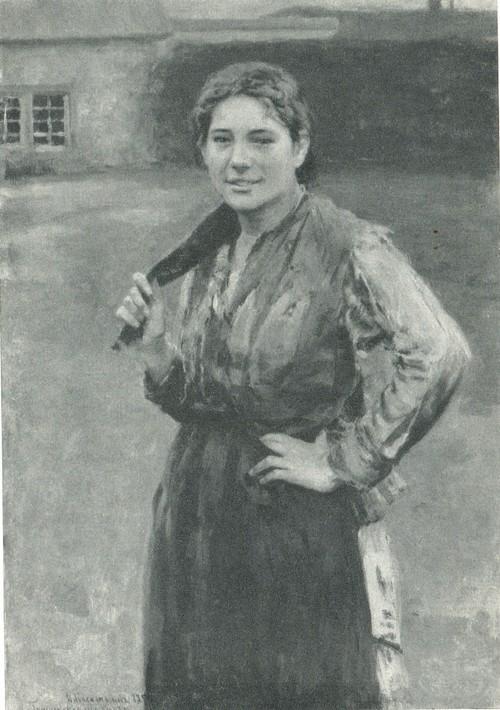 Н. А. Касаткин. Шахтерка. 1894