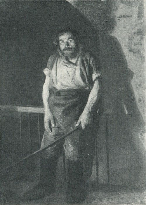 Н. А. Ярошенко. Кочегар. 1878