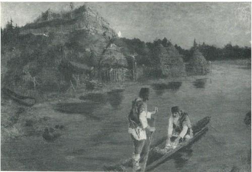 Н. К. Рерих. Гонец. 1897